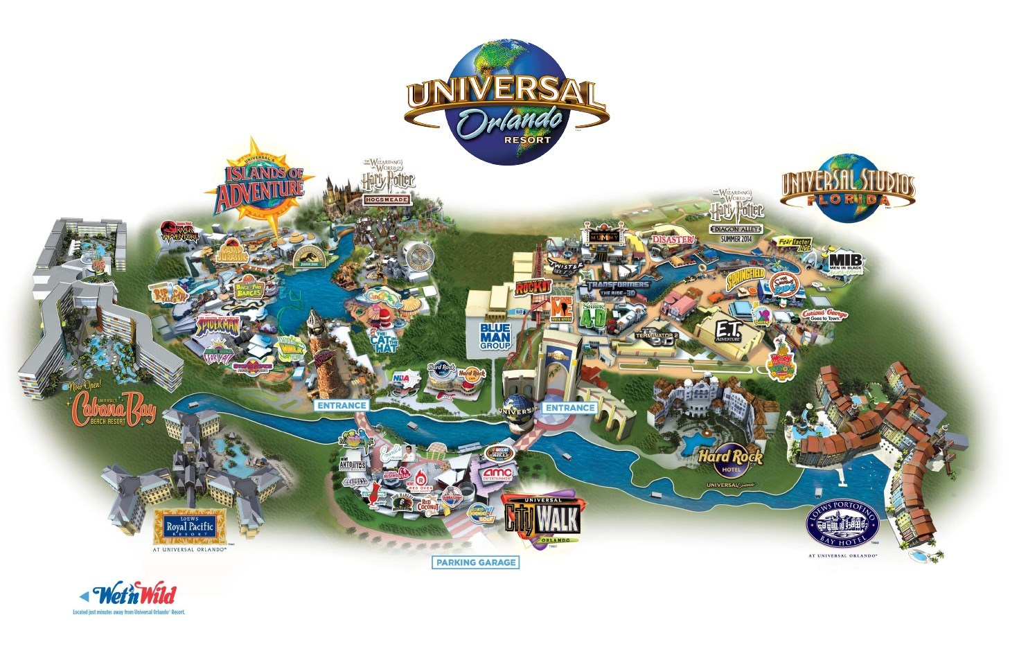 Exclusive Benefits For On Site Universal Resort Hotel Guests
