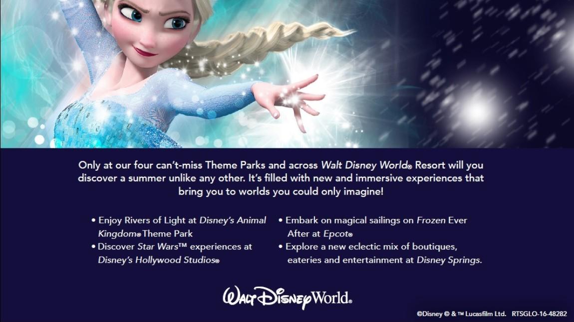 Summer Walt Disney World Resort Kid-Size Package Offer Released!