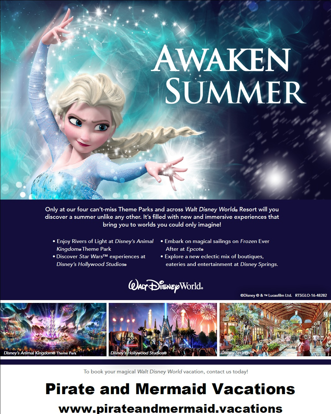 Summer Walt Disney World Resort Kid-Size Package Offer Released!