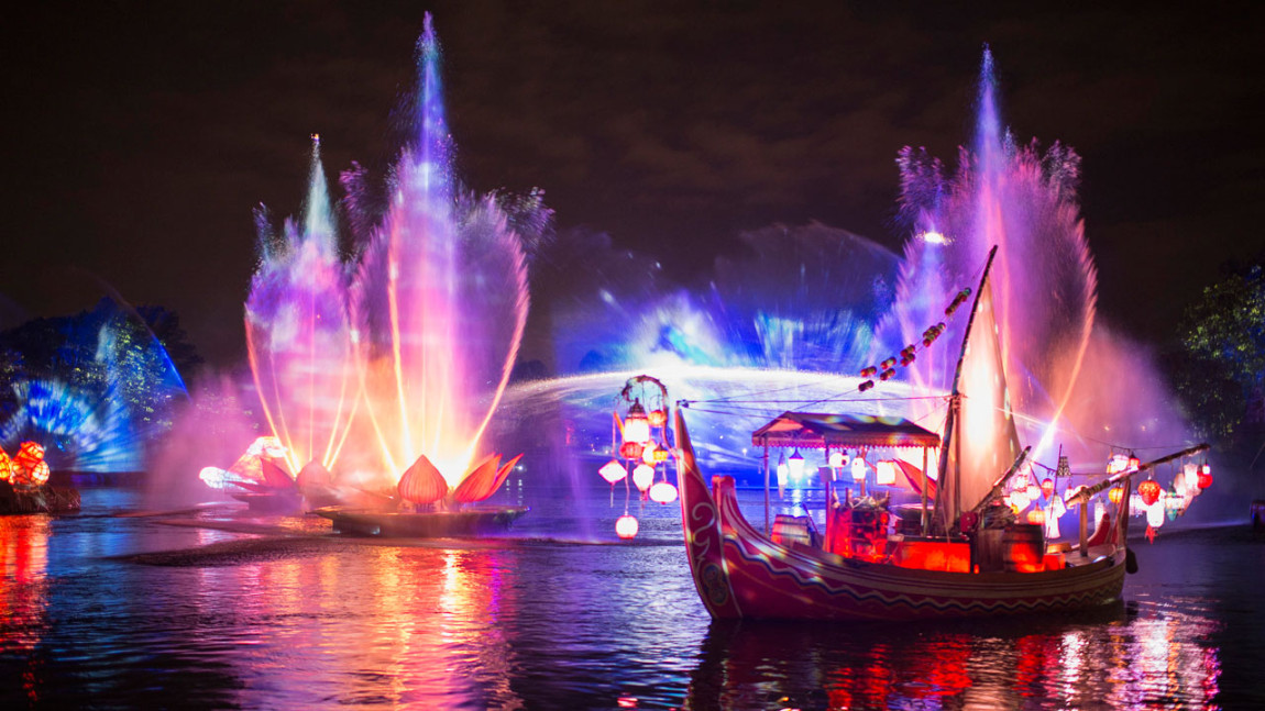 Update on Disney's Animal Kingdom Theme Park's New Rivers of Light Nighttime Experience Released