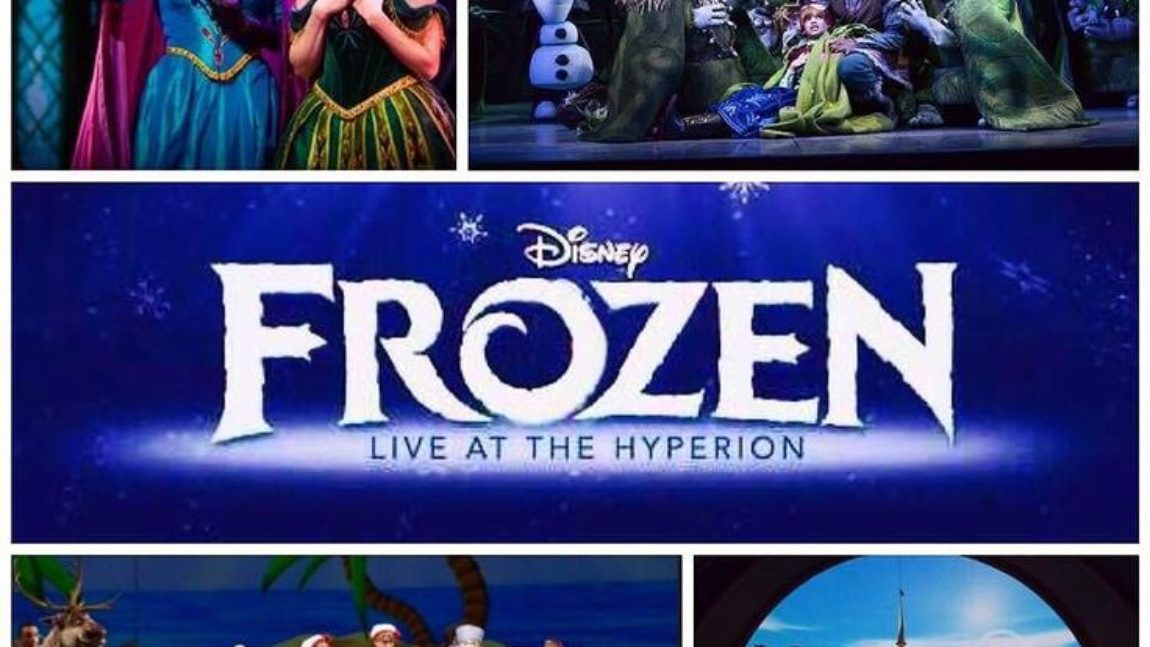 Pre-Show Packages Now Available For 'Frozen – Live at the Hyperion'