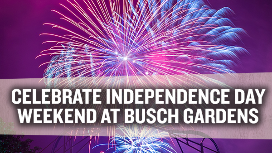 Busch Gardens Williamsburg Summer and Fourth of July Events