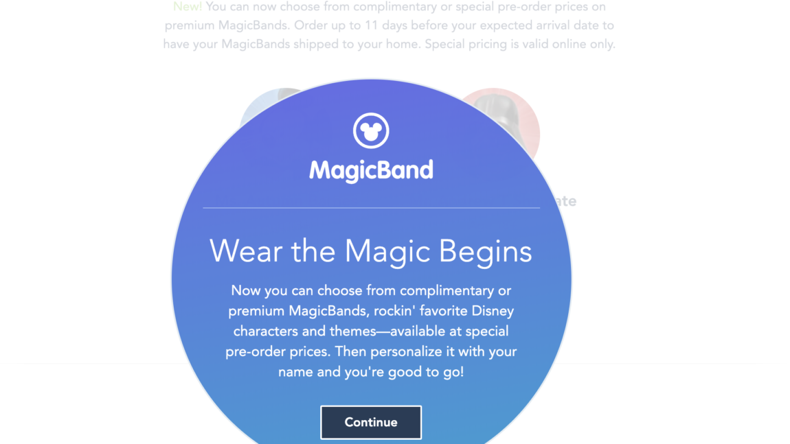 New Ways To Customize Your Walt Disney World Resort Stay MagicBand Are Now Available